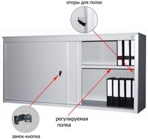Шкаф-купе металлический ALS 8818 купить на выгодных условиях в Ульяновске